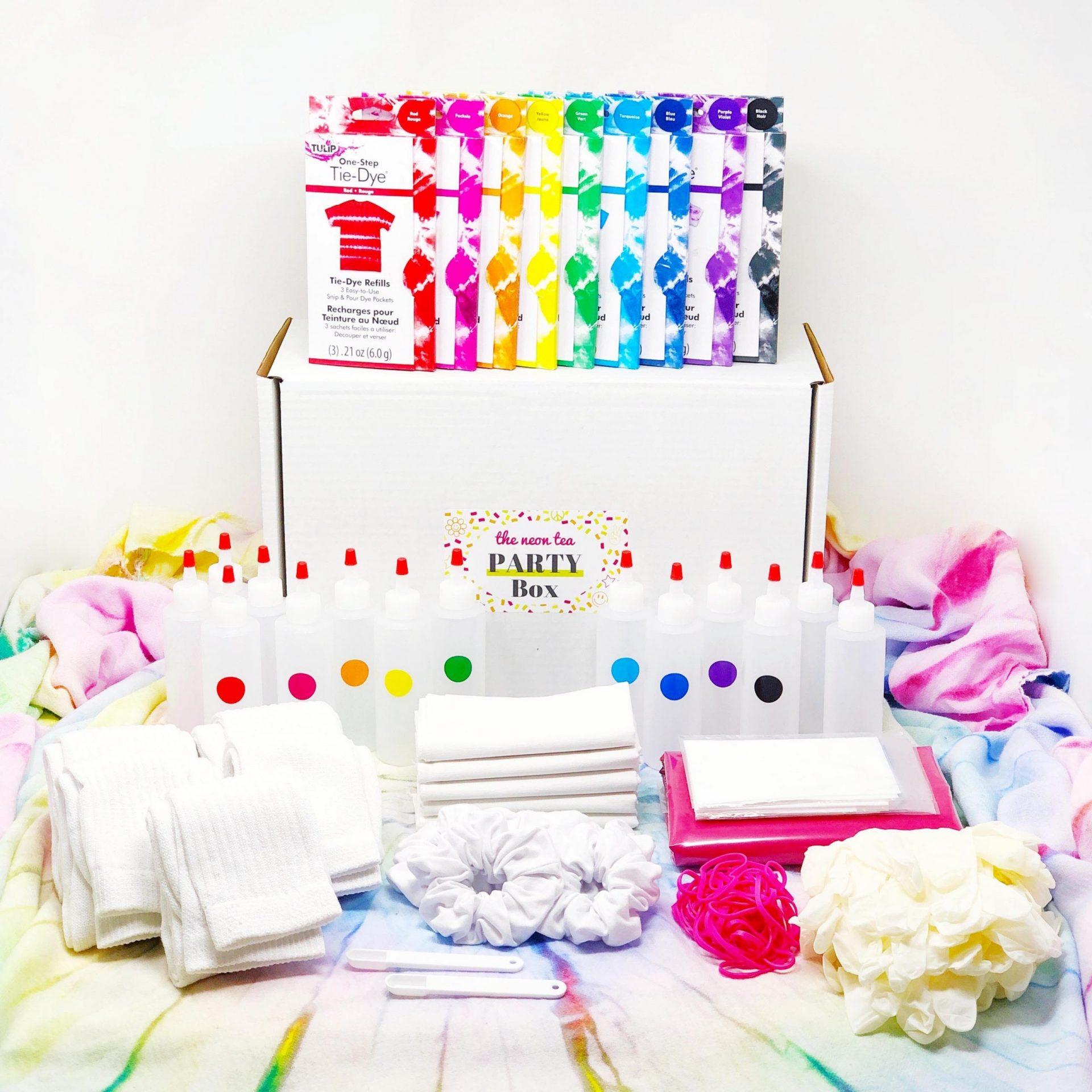 Party Box - Tie Dye - Hero