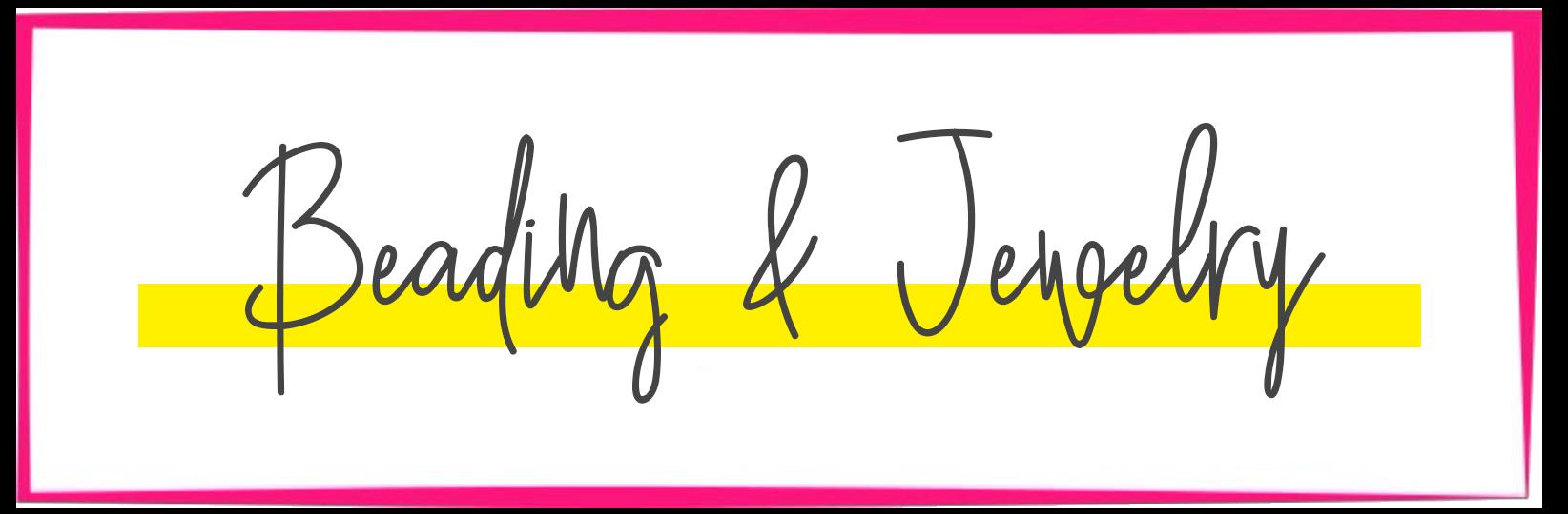 Beading & Jewelry Title Graphic