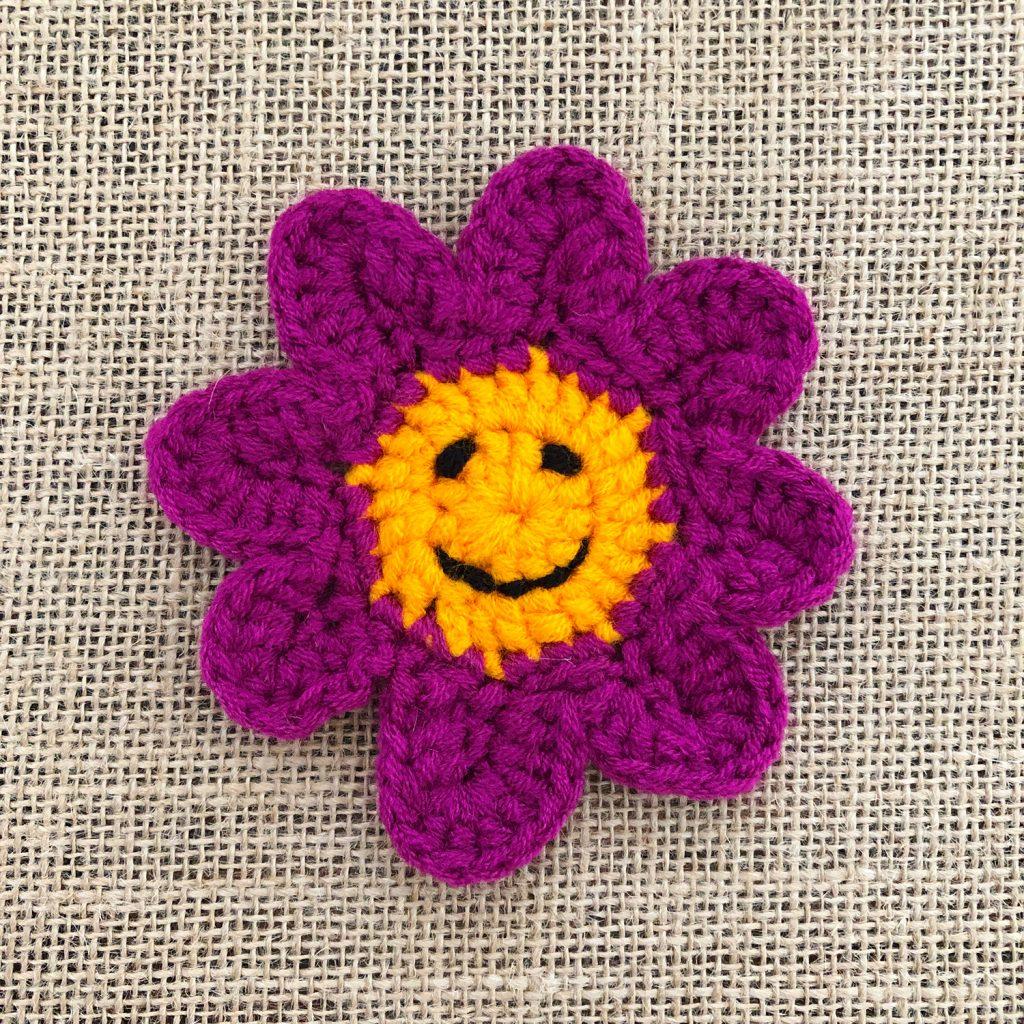 Crochet Smiley Face Final