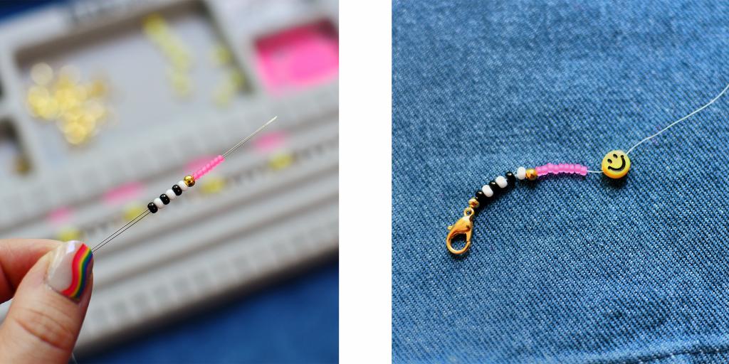 Daisy Chain Jewelry Steps 3-4