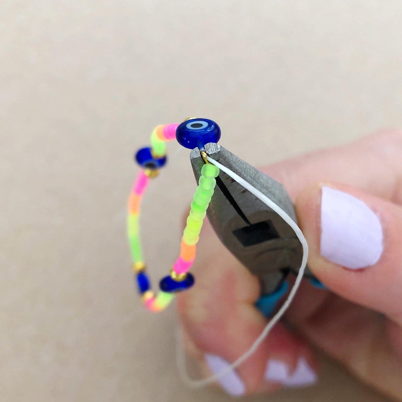 How to Make Stretch Jewelry - 6