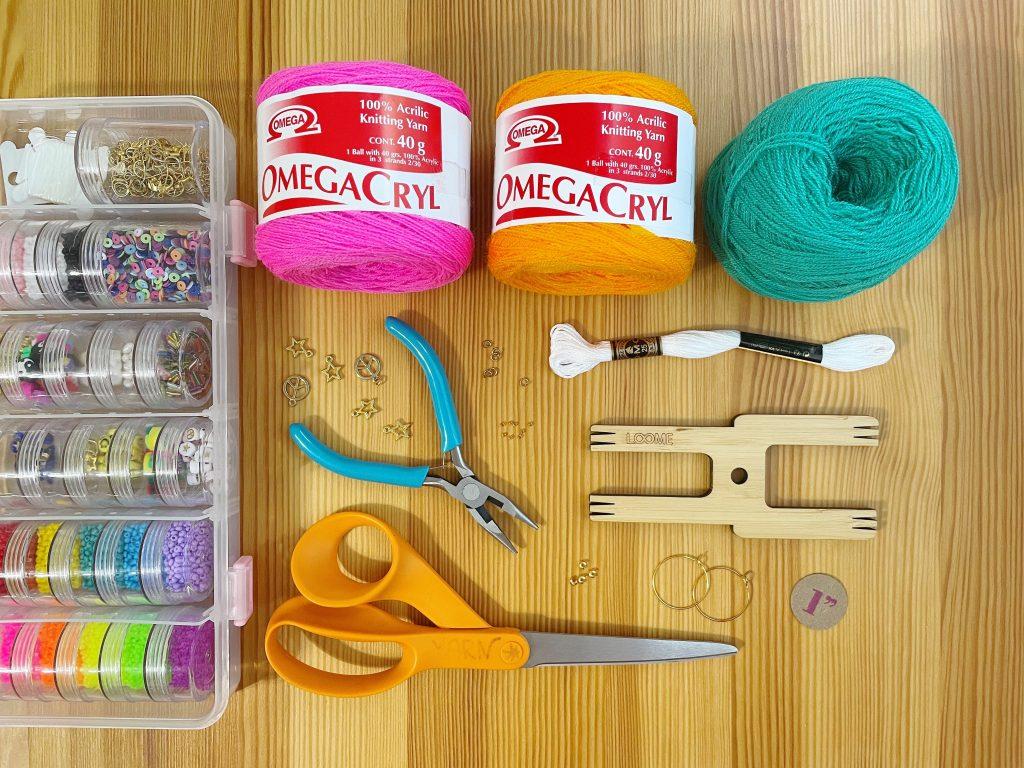 Beaded Pom Pom and Tassel Jewelry Supplies