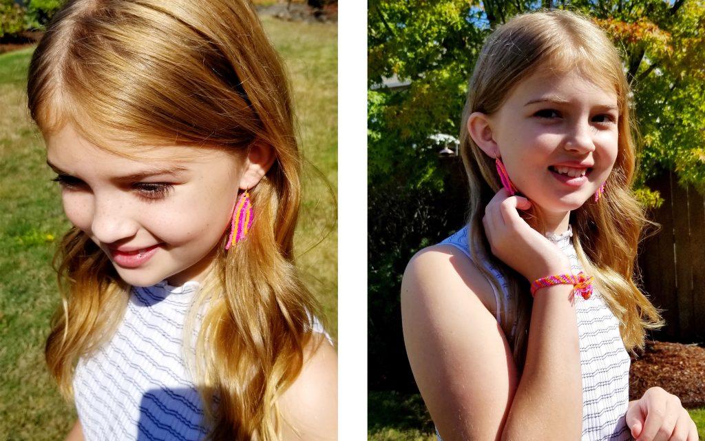 BrickStitch Earrings Lifestyle