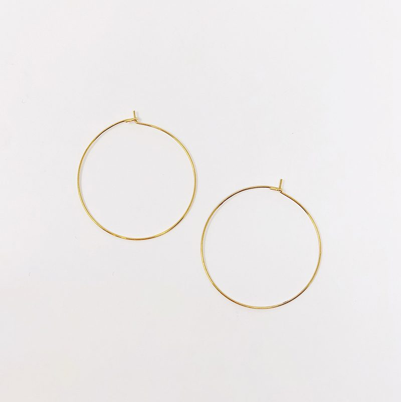 1 3:8 Hoops - Gold
