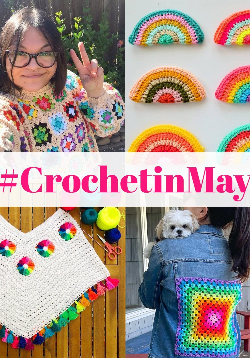 Crochet in May - Cover