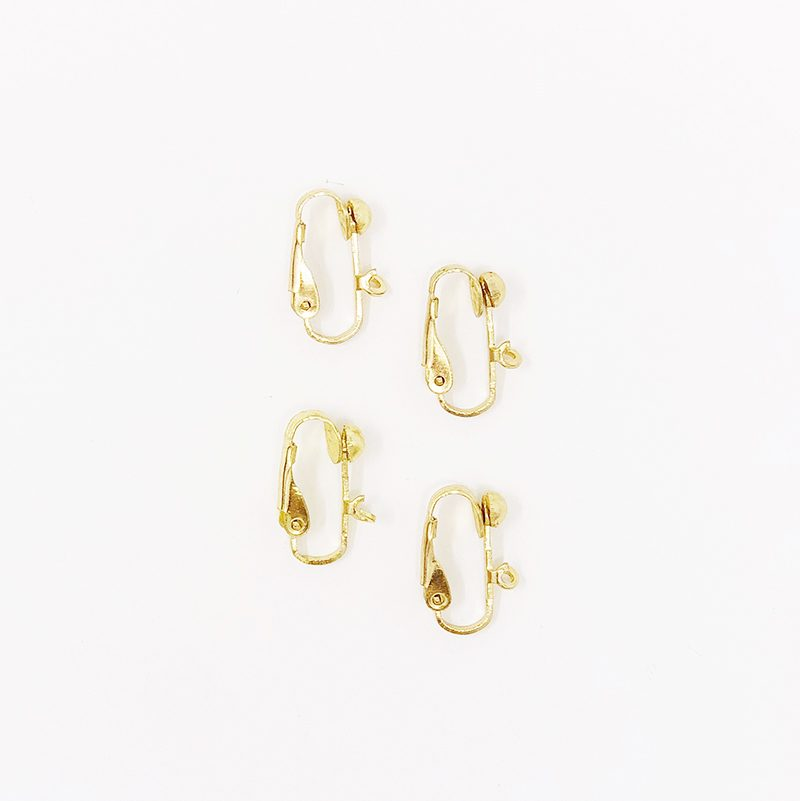 Earring Clips - Gold - 2 Pack