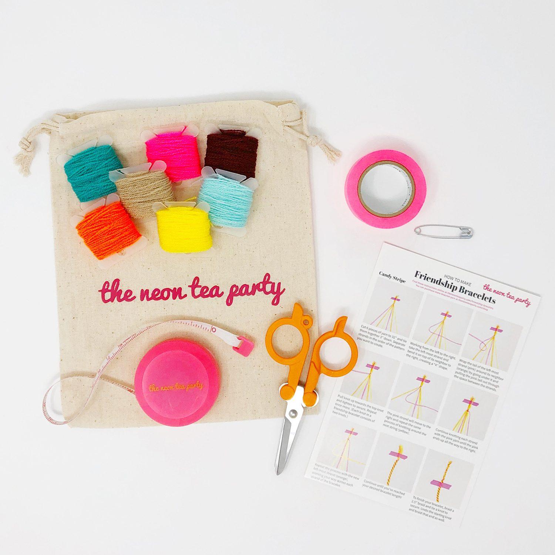 Friendship_Bracelet_Kit-The_Neon_Tea_Party-Palm Desert-Kit