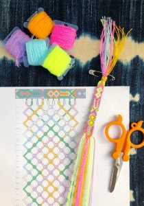 How to Read Friendship Bracelet Patterns The Neon Tea Party