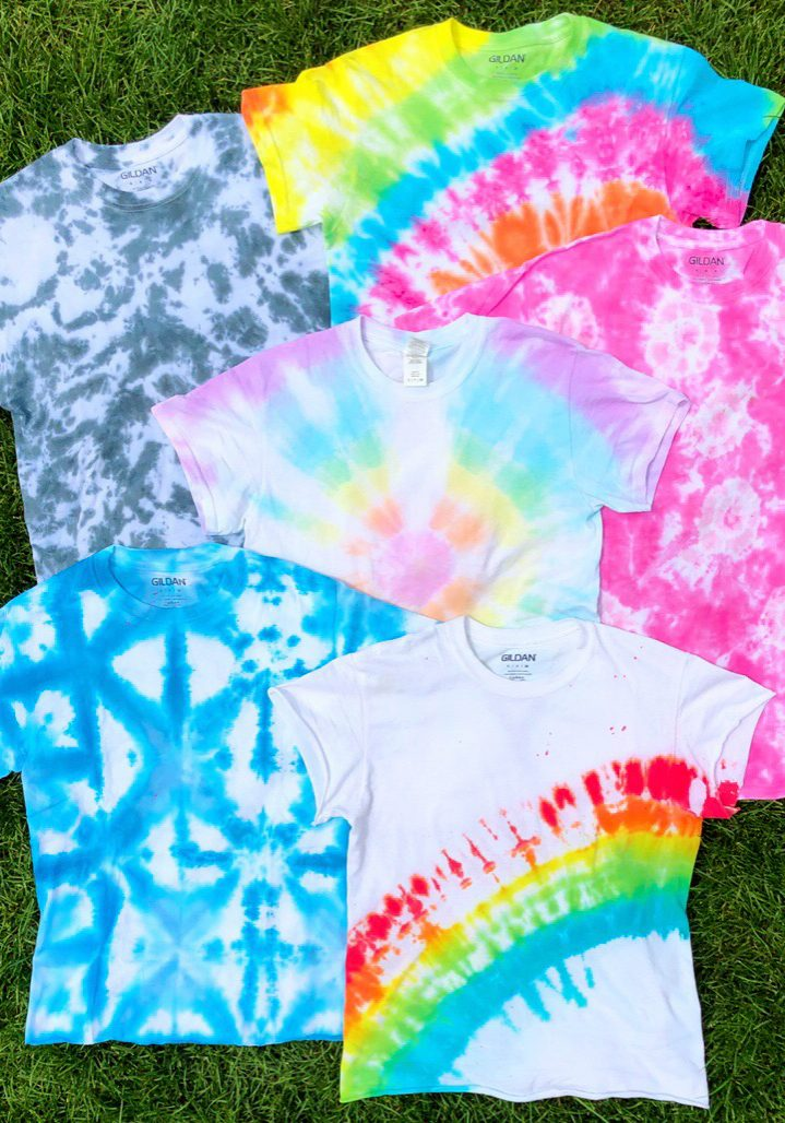 How to Tie Dye 101 The Neon Tea Party