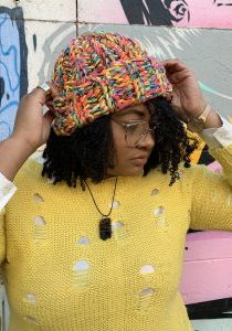 India Williams - Stitch'D Factory - High Line Crochet Beanie Pattern