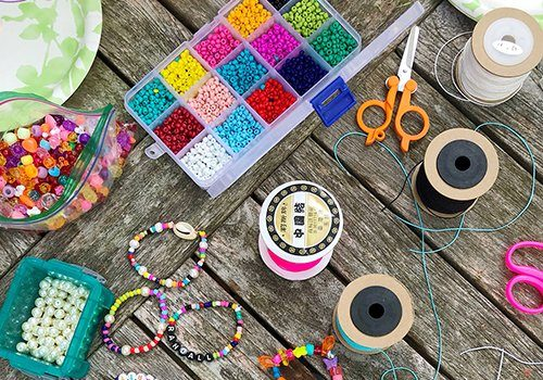 NYC New York City Beading Party Workshop The Neon Tea Party