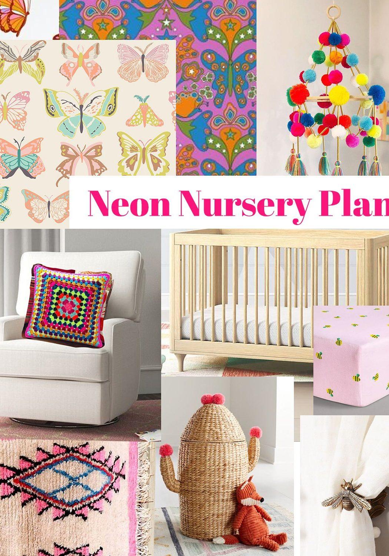 Neon Nursery - The Neon Tea Party - Marisa Morrison Stein