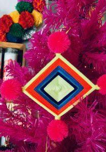 Ojo De Dios Christmas Ornaments Artelexia The Neon Tea Party