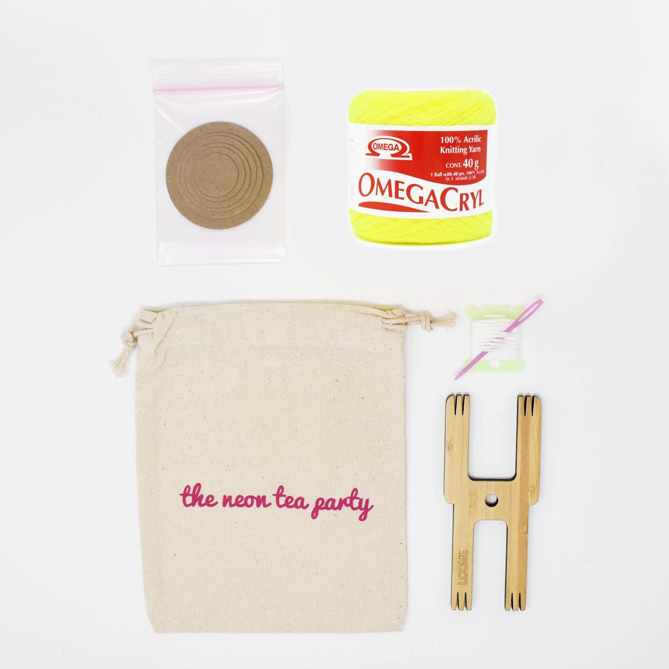 Pom_Pom_Tassel_DIY_Kit_Goodie_Bag_The_Neon_Tea_Party