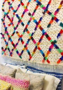 The Neon Tea Party Baba Souk Moroccan Wedding Blanket 6