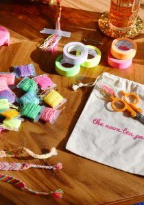 The Neon Tea Party Friendship Bracelet DIY Kit Spotlight 01