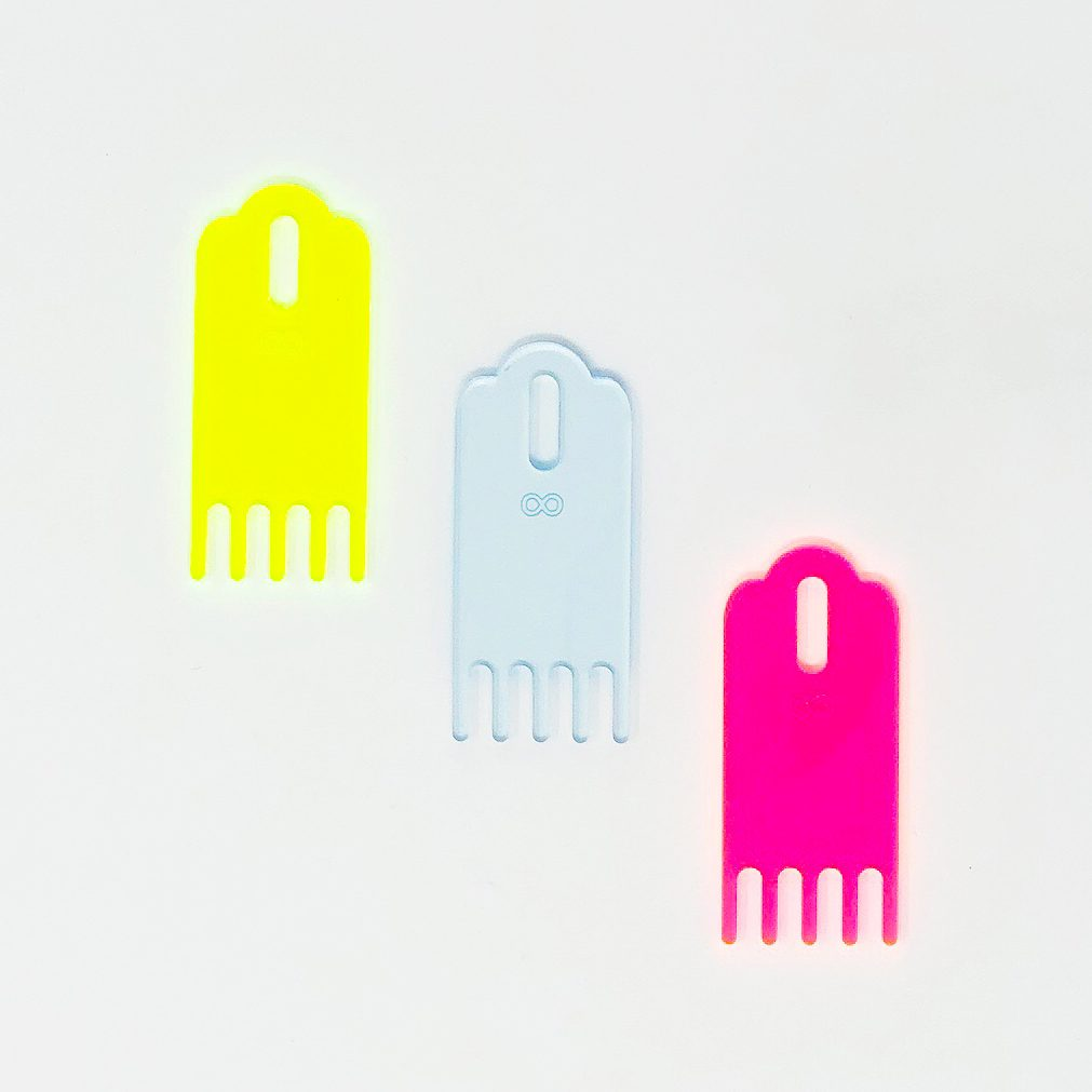 The Neon Tea Party Loome Tassel Comb All Colors