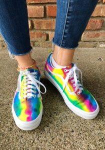 Tie Dye Sneakers - 3