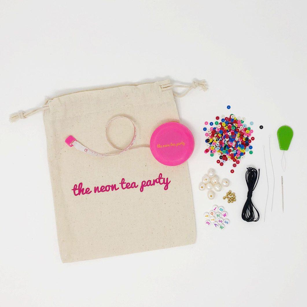 WomanShopWorld x The Neon Tea Party Beaded Bracelet Kit