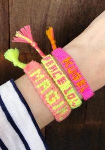 Word Name Alpha Friendship Bracelets