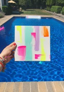the-neon-tea-party-poolside-painting