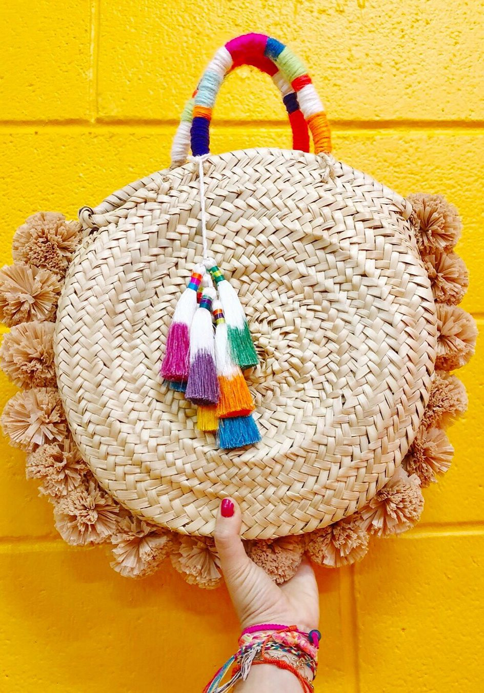 womanshopsworld raffia straw bag diy